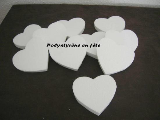 Coeur  12.5 cm  -1.50 pièce - 6.50 E le lot de 5 -10,00 E le lot de 10