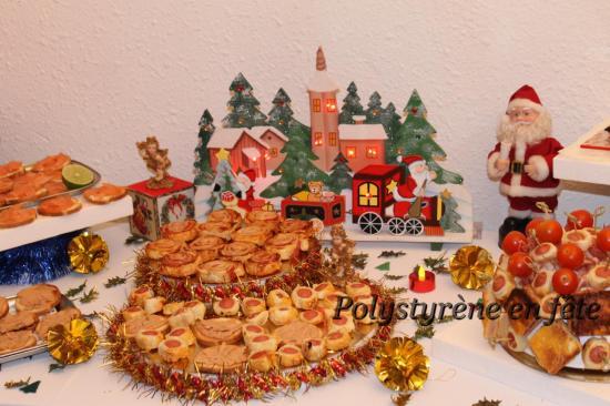 buffet fête de fin d'année