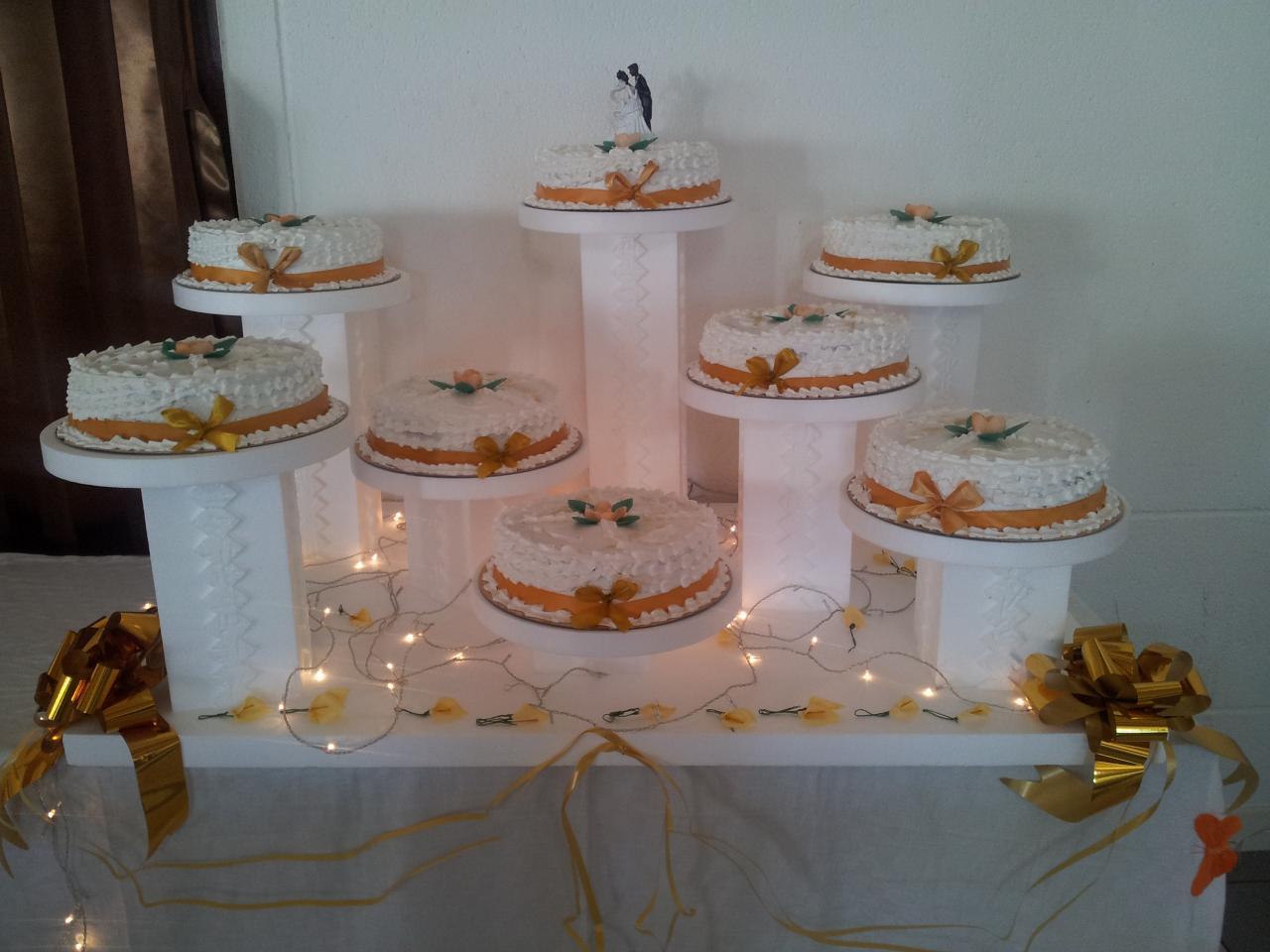 Pr sentoir d cor - Presentoire gateau mariage ...