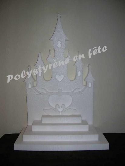 présentoir pyramide château - 75,00 E
