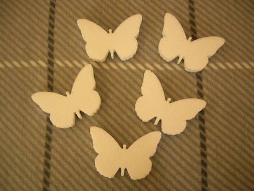 Papillon H 12 cm -1.50 E pièce -6.50 E le lot de 5 - 10,00 E le lot de 10 10