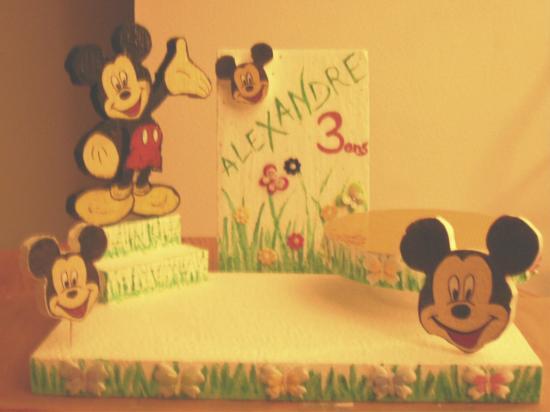 Présentoir Mickey