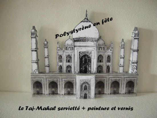Palais oriental  TAJ-MAHAAL  decoré - 60,00 E