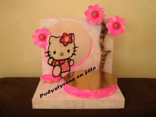 Présentoir Hello Kitty décoré -  80,00 E