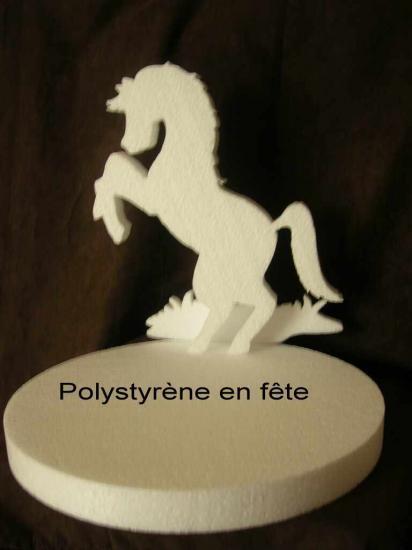 Présentoir cheval cabré fantaisie - 30,00 E