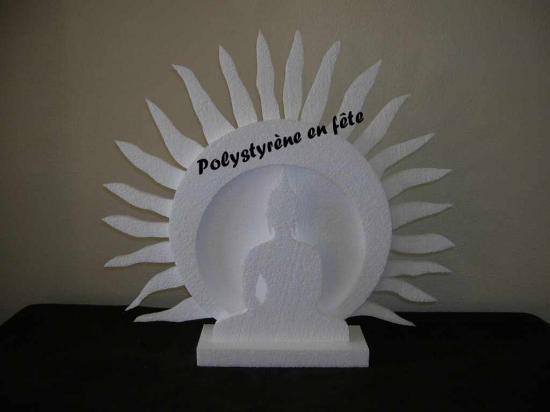 Décor Bouddha  3D  - 35,00 E