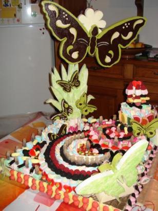 superbe Gâteau de bonbons !