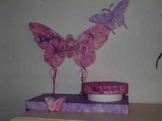 Petit présentoir papillon
