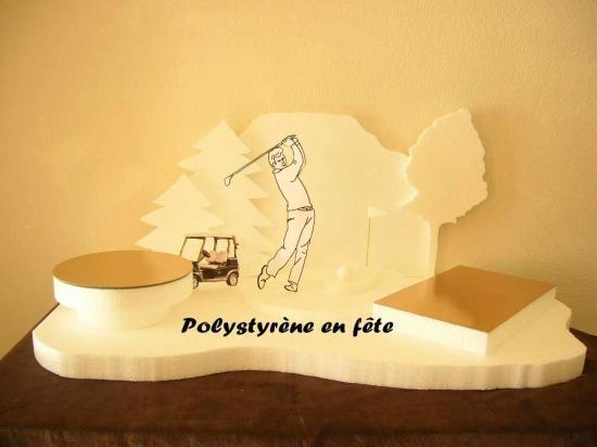 Présentoir Golf -   70,00 E