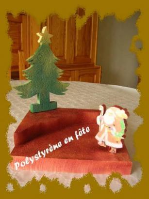 Petit présentoir NOEL 30/25cm   -  25,00 E