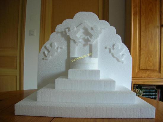 pyramide fontaine et ange - 45,00 E