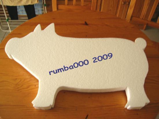 Présentoir cochon  50,00 E