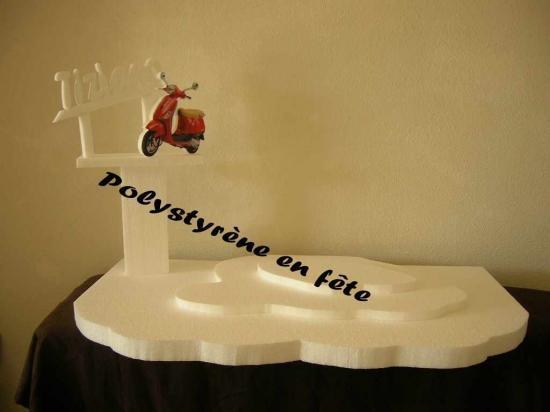 Présentoir scooter  70,00 E