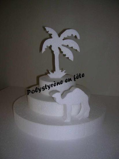 pyramide-palmier-chameau - 25,00 E