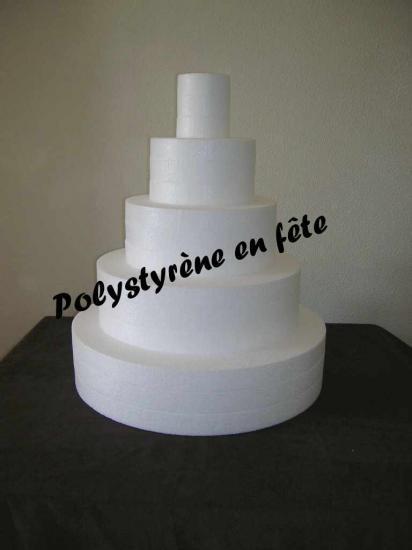 Weding cake - 5 étages - 75,00 E