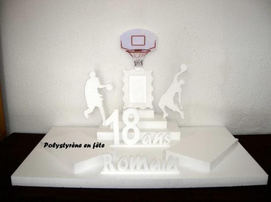 présentoir basket - 2 plateaux - 75,00 E