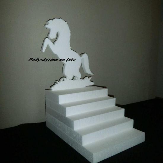 présentoir escalier cheval fantaisie - 40,00 E