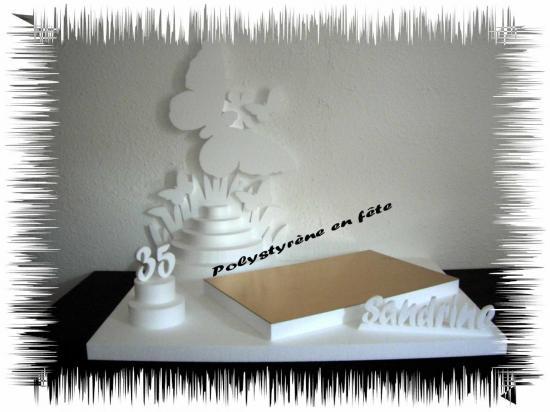 Présentoir papillon 1 plateau 60-40cm  - 75,00 E