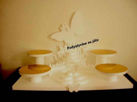 Grand présentoir papillon -110,00 E