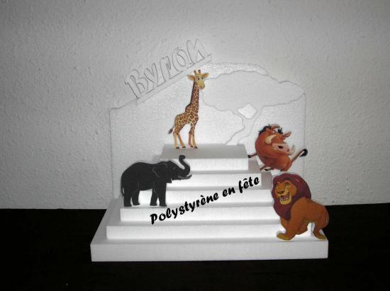 Présentoir pyramide le roi lion - 50,00 E