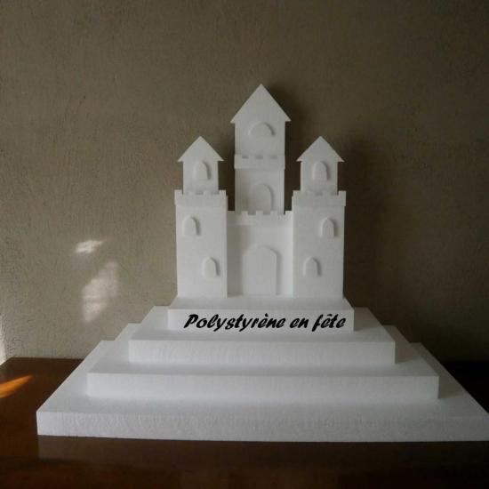 Présentoir pyramide  château fort - 70,00 E
