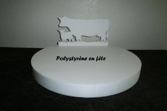 présentoir vache et veau - 20,00 E