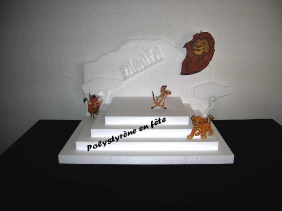 Grand présentoir pyramide le roi lion - 75,00 E