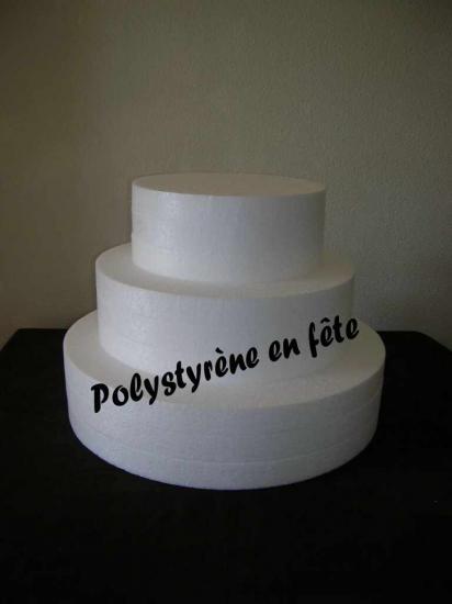 Wedding cake 3 étages - 60,00 E